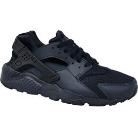 Nike Huarache Run Gs W 654275-403 calzado negro