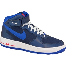 Zapatillas Nike Air Force 1 Mid Gs W 314195-412 marina