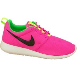 Nike Rosherun Gs W 599729-607 calzado rosa