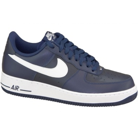 Nike Air Force 1 '07 M 488298-436 calzado marina