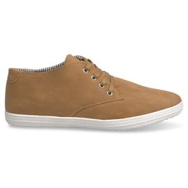 Zapatillas altas de moda 3232 Camel marrón