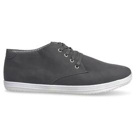 Zapatillas altas de moda 3232 gris