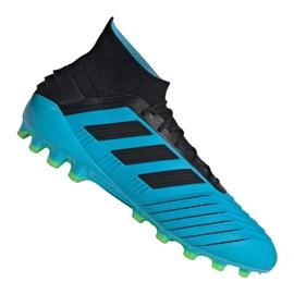 Adidas Predator 19.1 Ag M F99970 Calzado de fútbol azul azul