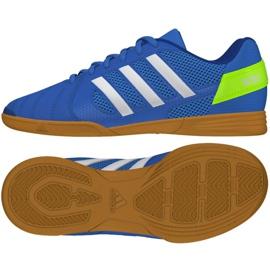 Zapatillas de salón Adidas Top Sala Jr FV2632 azul azul