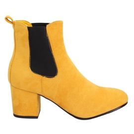 Botas amarillas Jodhpur amarillas 2208-132 amarillas amarillo