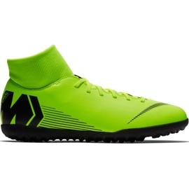 Zapatillas de fútbol Nike Mercurial Superfly 6 Club Tf M AH7372 701 negro verde verde