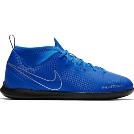 Zapatillas de fútbol Nike Phantom Vsn Club Df Ic Jr AO3293 400 azul