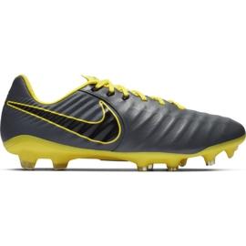 Zapatillas de fútbol Nike Tiempo Legend 7 Pro Fg M AH7241 070 gris