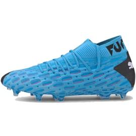Zapatillas de fútbol Puma Future 5.1 Netfit Fg Ag M 105755 01 azul