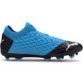Zapatillas de fútbol Puma Future 5.4 Fg Ag M 105785 01 azul