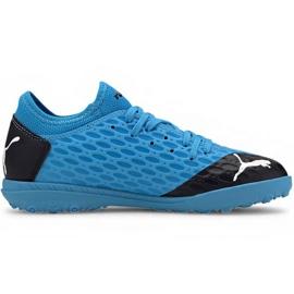 Zapatillas de fútbol Puma Future 5.4 Tt Jr 105813 01 azul