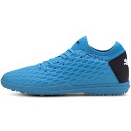 Zapatillas de fútbol Puma Future 5.4 Tt M 105803 01 azul azul