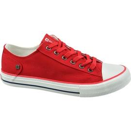Zapatos Big Star W DD274339 rojo