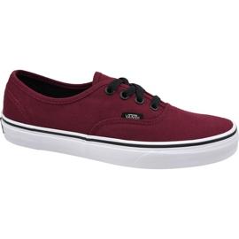 Zapatillas Vans Authentic W VQER5U8 rojo