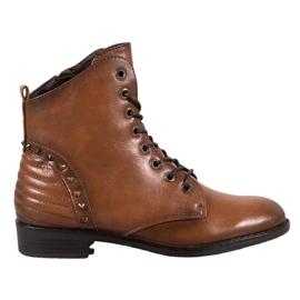 Elegantes botas VINCEZA marrón
