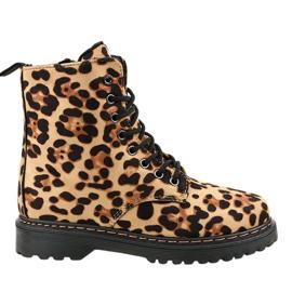 Botas con aislamiento de leopardo DJH01-18