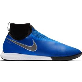 Zapatillas de fútbol Nike React Phantom Vsn Pro Df Ic M AO3276 400 azul