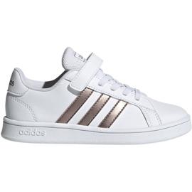 Zapatillas Adidas Grand Court C Jr EF0107 blanco