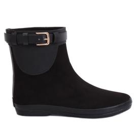 Botas de agua negras negras K1890101 Negro