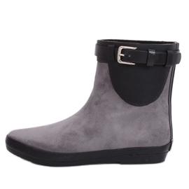 Botas grises wellingtons para mujer K1890101 Gris