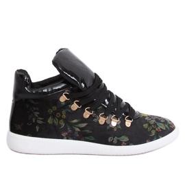 Zapatillas terciopelo K1834206 Flores