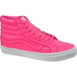 Zapatillas Vans Sk8-Hi Slim W VA32R2MW4 rosa