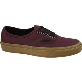 Zapatillas Vans Authentic M VN0A38EMU5A1 rojo