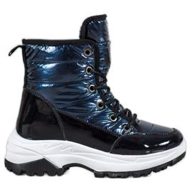 SHELOVET Botas de nieve deportivas azul