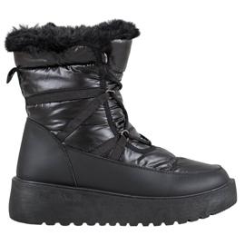Bella Paris Botas de nieve de moda negro