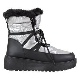 Bella Paris Botas de nieve de moda gris