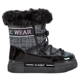 Bella Paris Botas de nieve de moda clásicas