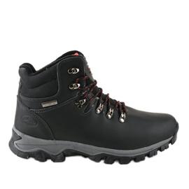 Botas de nieve con aislamiento negro MXC-7587L