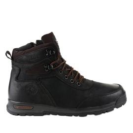 Zapatillas de senderismo con aislamiento negro para hombre M70-2A
