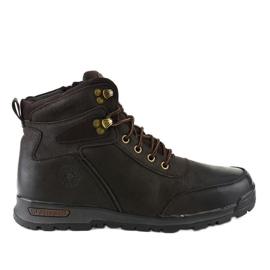 Zapatillas de senderismo para hombre con aislamiento marrón M70-2E