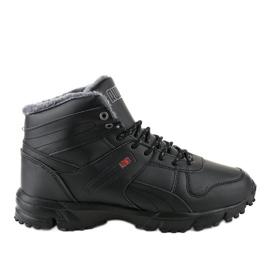 Zapatilla deportiva negra aislada MC783-1 negro