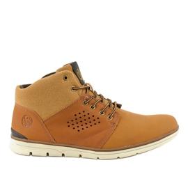 Zapatillas de senderismo para hombre con aislamiento marrón X926-14
