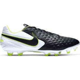 Zapatillas de fútbol Nike Tiempo Legend 8 Pro Fg M AT6133 007 blanco, negro, verde negro
