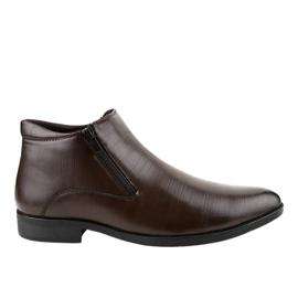 Zapato bajo con aislamiento marrón HL1002-3