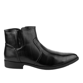 Zapato bajo negro con aislamiento HL1005-2