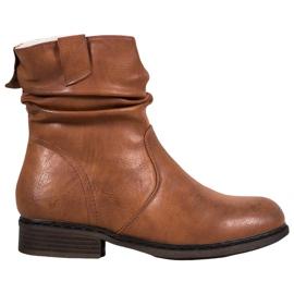 Super Me Botas vaqueras calientes marrón