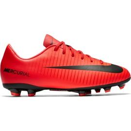 Nike Mercurial Victory Vi Fg Jr 831945616 Calzado rojo