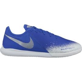 Zapatillas de interior Nike Phantom Vsn Academy Ic M AO3225-410 blanco, azul azul