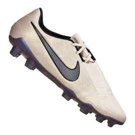 Zapatillas de fútbol Nike Phantom Vnm Elite Fg M AO7540-005 beige blanco mate