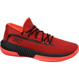 Zapatillas Under Armour Sc 3Zero Iii M 3022048-601 rojo rojo