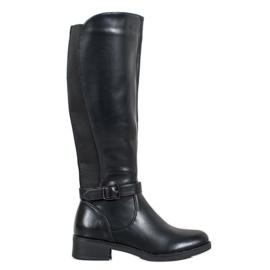 Ideal Shoes Botas clásicas negro