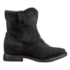 Seastar Botas de vaquero de moda negro