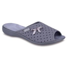 Befado zapatos de mujer pu 254D047 gris