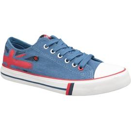 Zapatillas Lee Cooper Low Cut 1 W LCWL-19-530-032 azul