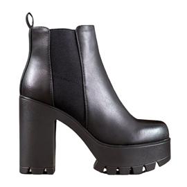 Seastar Botas de moda en la plataforma negro