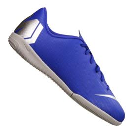 Zapatillas Nike VaporX 12 Academy Gs Ic Jr AJ3101-400 azul azul
